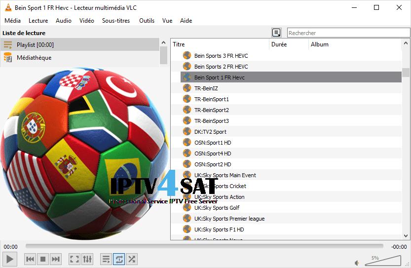 Free playlist sports iptv m3u