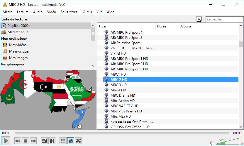 Liste m3u arabe iptv gratuit