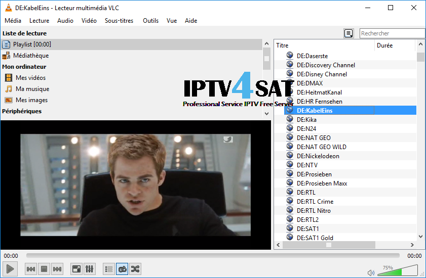 Free list deutsch iptv server