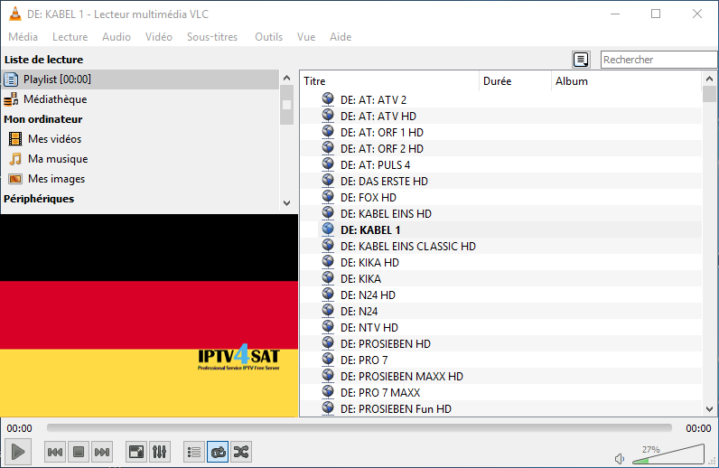 Iptv m3u free deutsch playlist