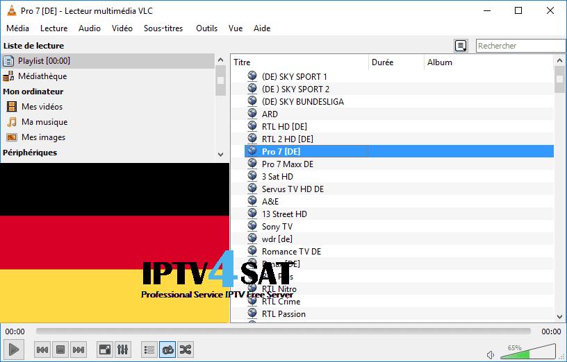 Free server deutsch iptv m3u