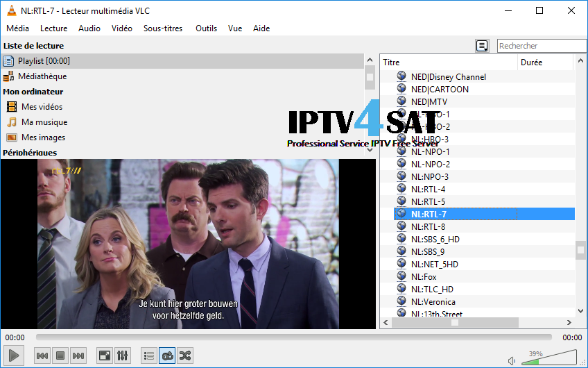 Iptv free netherlands playlist m3u