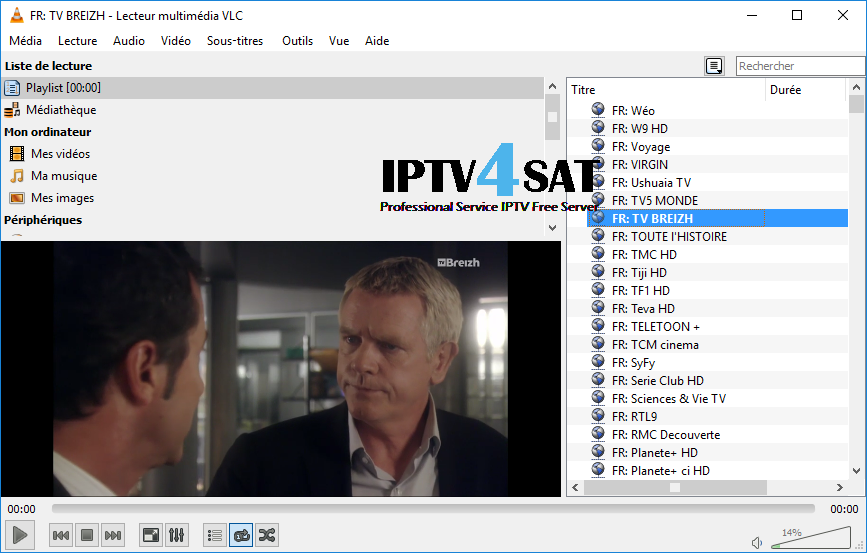 Iptv france playlist m3u gratuit