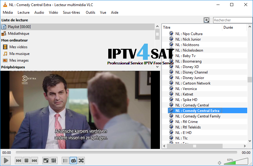 Iptv server dutch m3u playlist