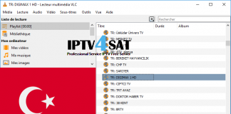 Iptv liste turkish m3u gratuit