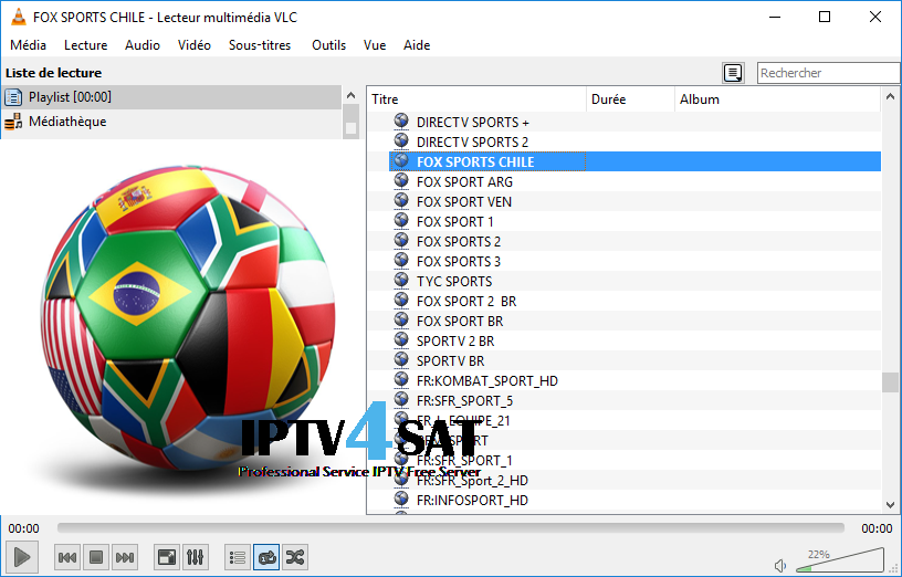 Iptv m3u sports liste gratuits
