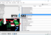 Iptv m3u arabe gratuit playlist