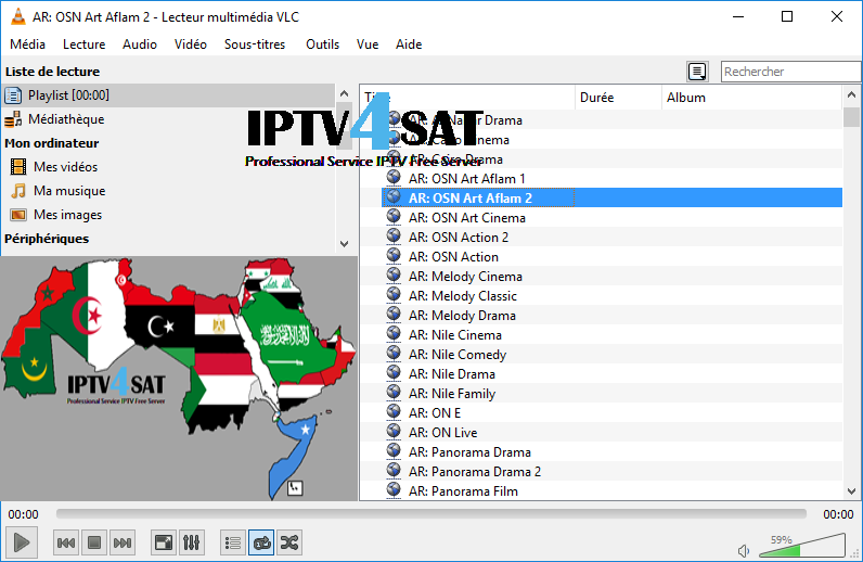 M3u nilesat iptv arabic playlist