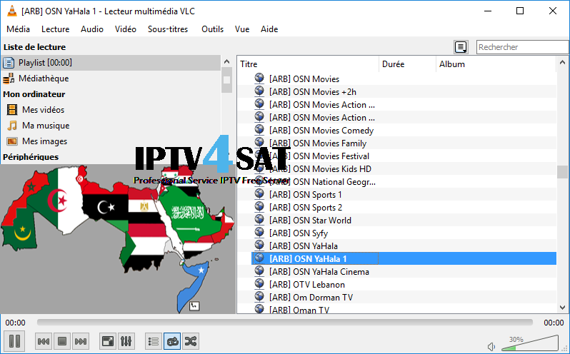 Iptv m3u free arabic playlists