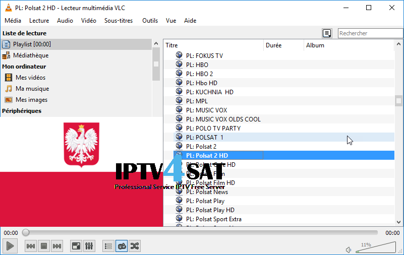 Iptv free poland m3u playlist