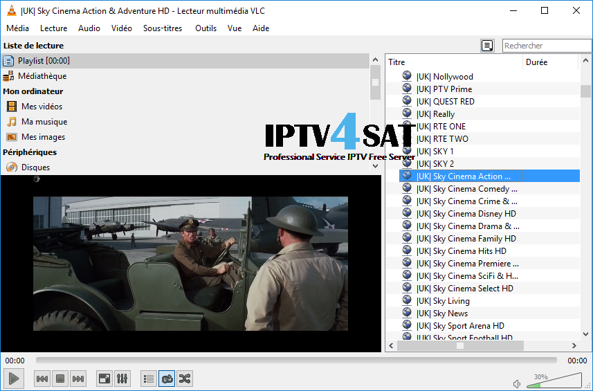 List free uk england iptv m3u