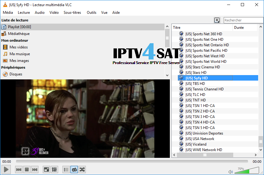 IPTV M3u Usa Channels Free Playlist 31/10/2017 | Iptv4sat Com
