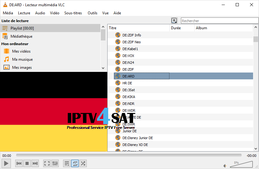 Playlist m3u deutsch iptv free