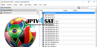m3u sports playlist gratuit