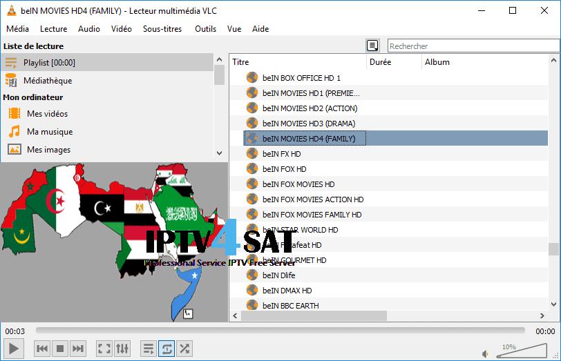 arabic m3u gratuit serveur