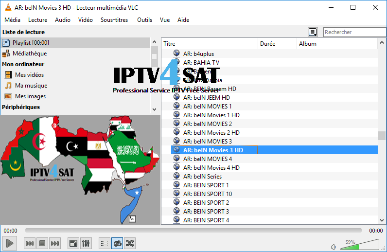 nilesat iptv arabic playlist