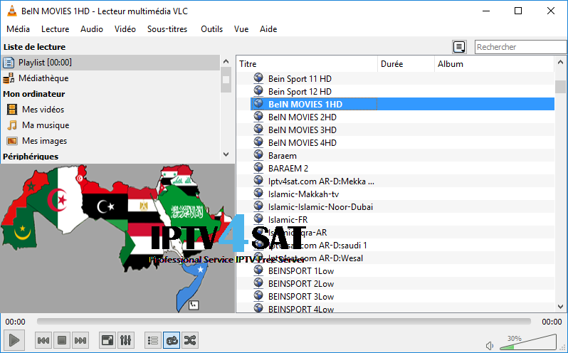 m3u free arabic playlists