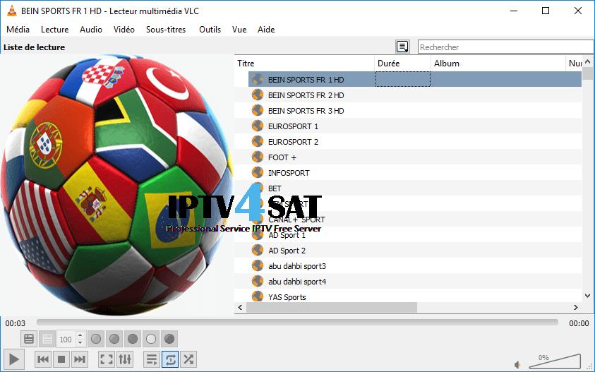m3u sports gratuit serveur