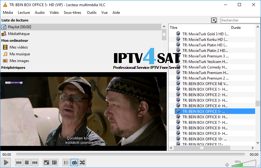 iptv turkey playlist gratuit