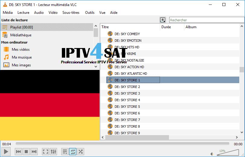 m3u deutsch iptv playlist