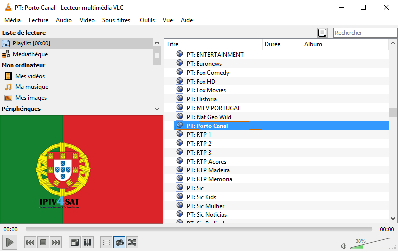 free portugal m3u list