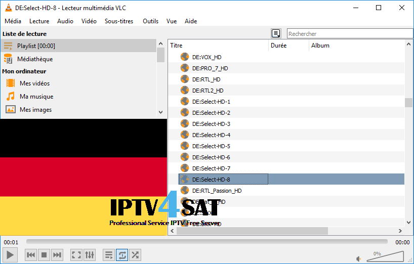 list germany iptv m3u