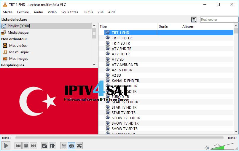 iptv turkey liste gratuit