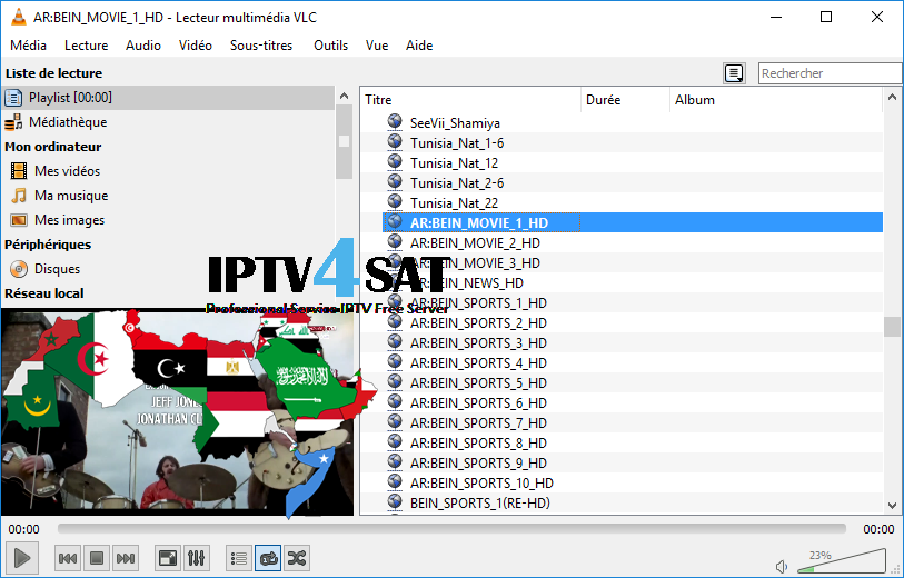 arabe gratuit playlist