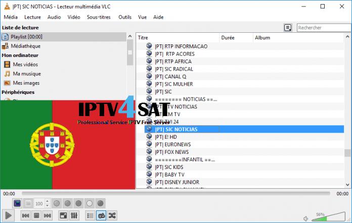 portugal playlist server