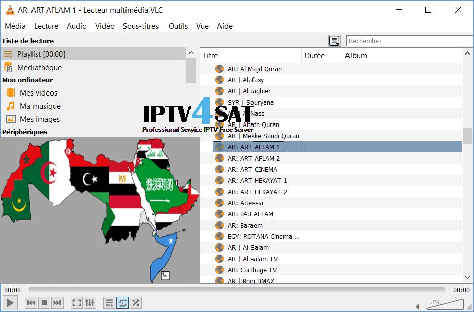 M3u iptv free arabic