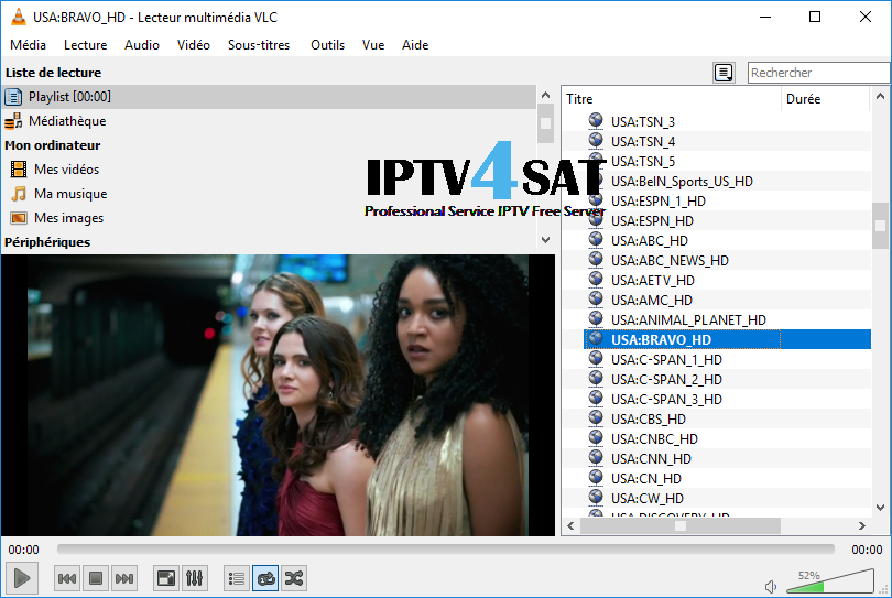 Iptv free USA m3u playlist