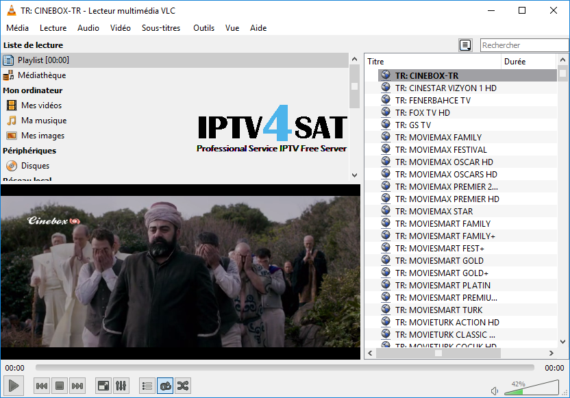 List turkish iptv gratuit m3u