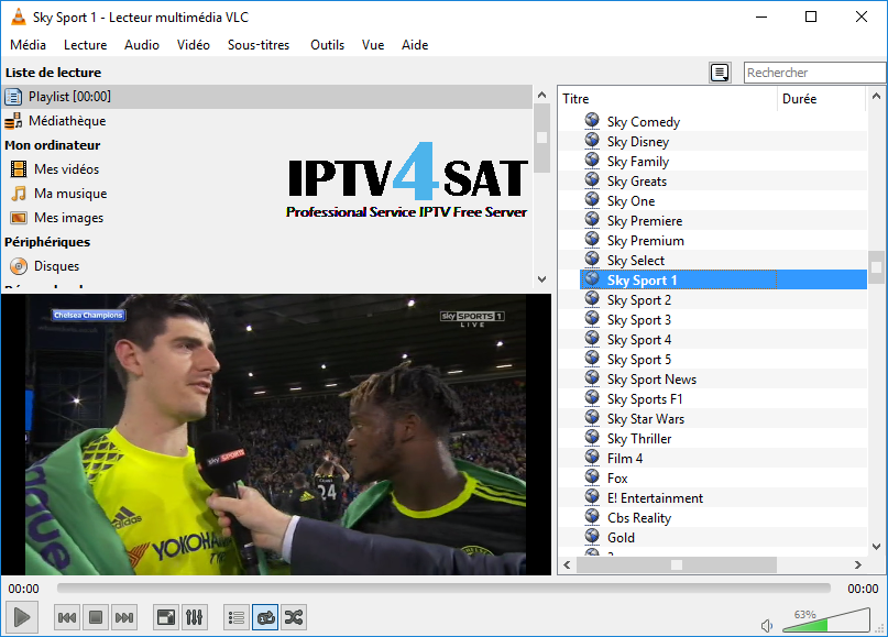 IPTV M3u England Playlist