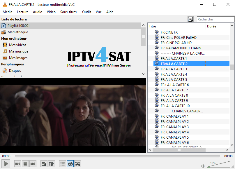 Iptv french m3u gratuit playlist
