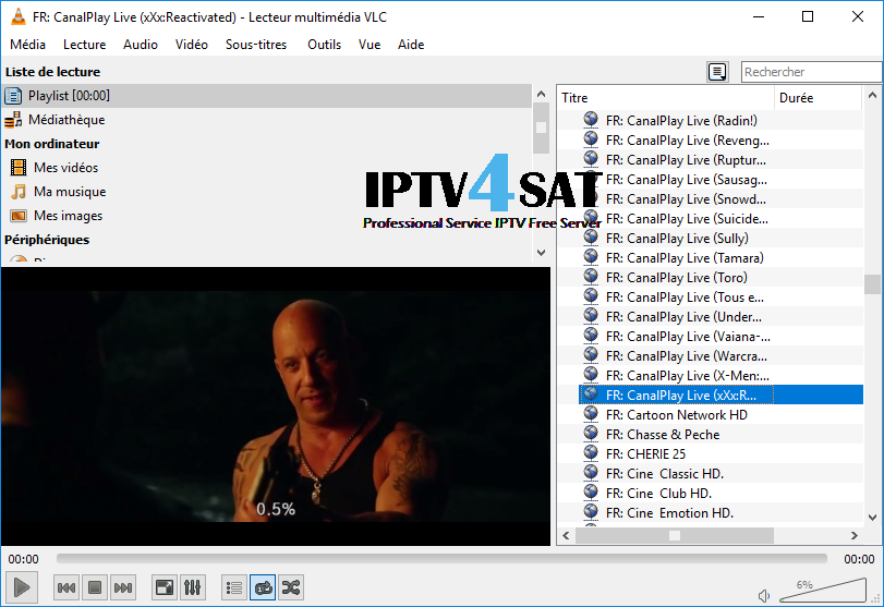 iptv m3u french gratuit