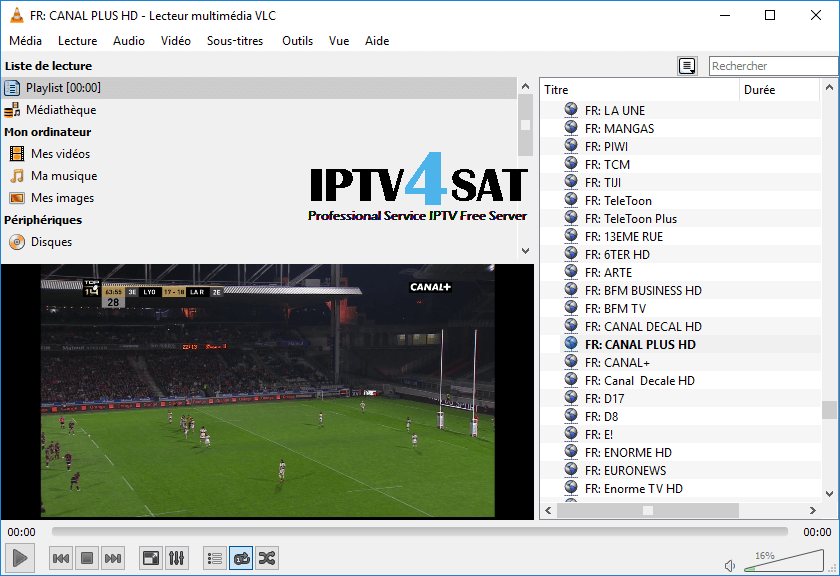 Iptv gratuit France android