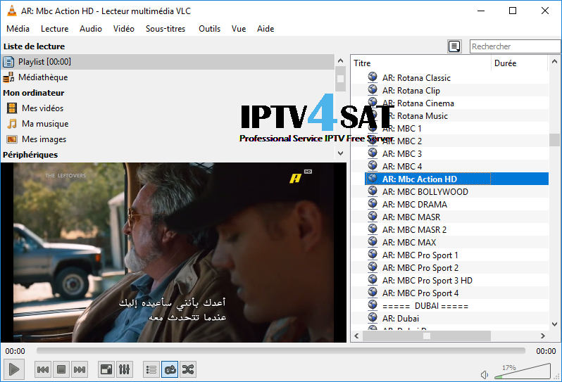 Arabic iptv M3u List download