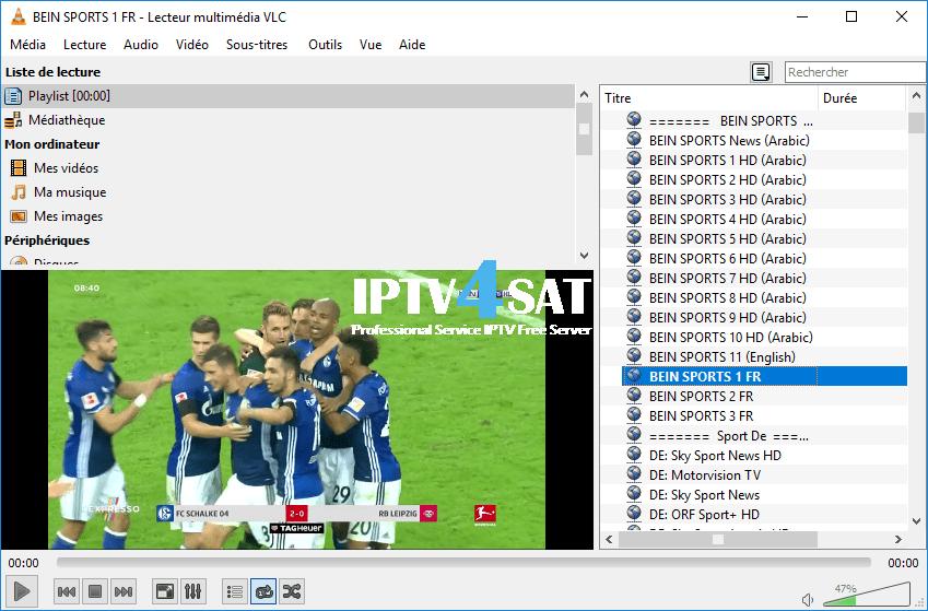 Iptv m3u gratuit sport server