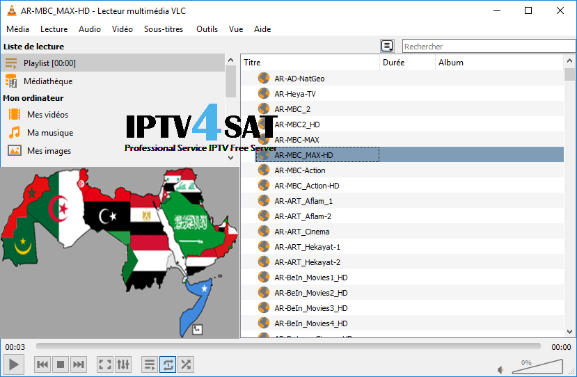 Free iptv arabic m3u