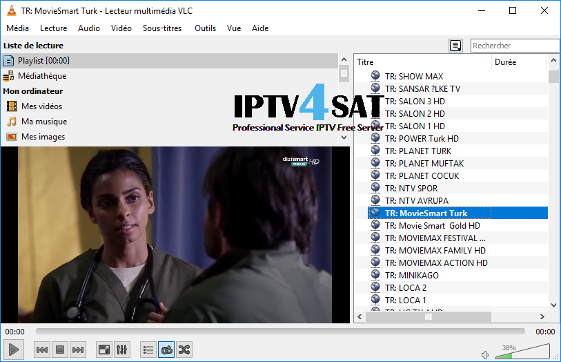 gratuit turkish iptv m3u