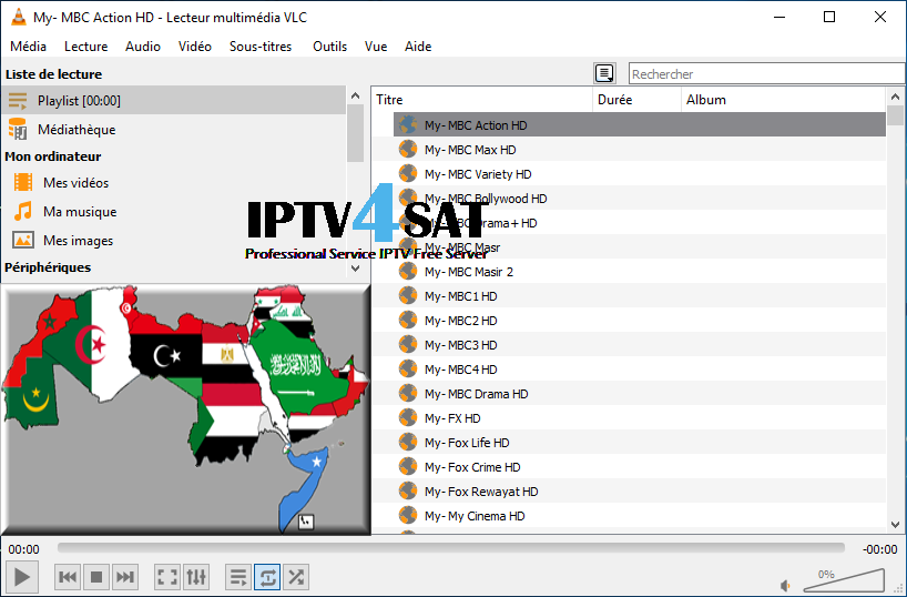 Playlist Iptv Arabic World M3u Channels 03/03/2019 | Iptv4sat Com