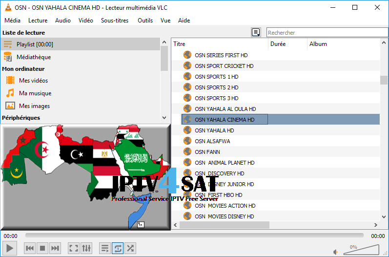 Iptv arabic channels nilesat m3u