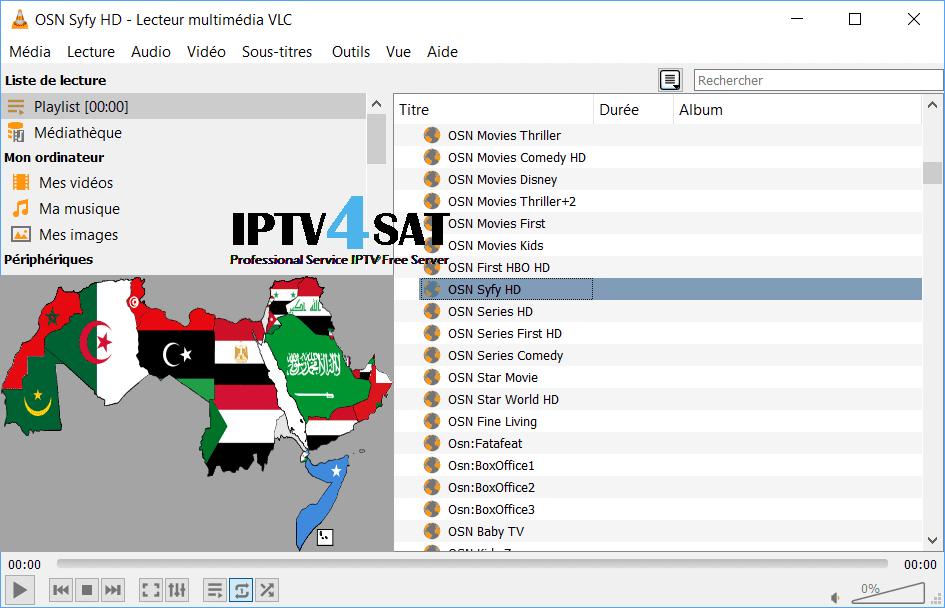 Serveur liste arabic iptv
