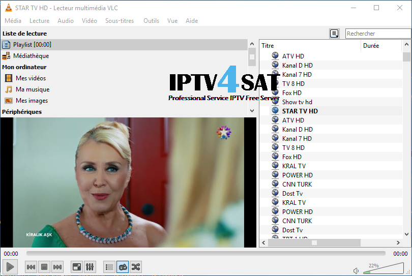 Server iptv turkish m3u gratuit
